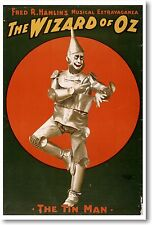 The Tin Man - NEW Vintage Movie Reprint POSTER