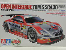 Tamiya 24293 Plastik-Modellbausatz Open Interface TOM'S SC430 2006 M.1:24