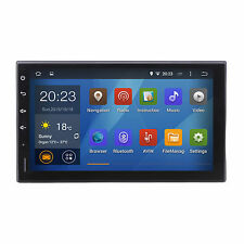 Quad Core Android Car Stereo Head Unit GPS Nav Radio 2 Din 7 Inch HD 1024x600
