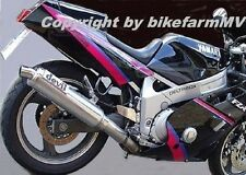 V2A XTP Kennzeichenhalter verstellbar 180 Yamaha FZR 600 1000 SZR 660 FZ 750