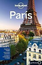 Lonely Planet Paris (Travel Guide) (Spanish Edition)-ExLibrary