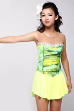 FIGURE SKATING DRESS - GREEN