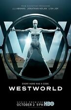Westworld poster  -  11 x 17 inches