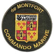 MARINE       COS        COMMANDO   de   MONTFORT           patch  thermocollable