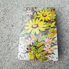 Western Publishing Co. Yellow Daisy Plastic Coated Playing Cards New Vintage USA