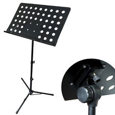 Music CONDUCTOR Stand Sheet Metal Tripod Holder Folding Stage Griffin USA BH