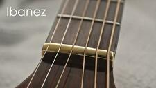 USA MADE - GeetarGizmos SLOTTED BRASS GUITAR NUT made for Ibanez Electric Guitar