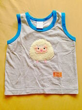 ♥ Baby Pureen Little Sheep Stripes Sleeveless Top M (3-6 months) ♥