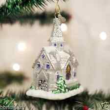 *Sparkling Cathedral* Church [20076] Old World Christmas Glass Ornament - NEW