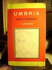 UMBRIA  Carta Stradale.   Cod. 652        Scala  1 : 200.000