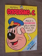 PAPERINO E C. #  56 - 25 luglio 1982 - CON INSERTO - WALT DISNEY - OTTIMO