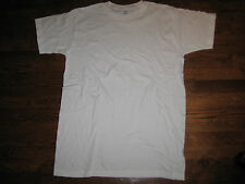 tshirt, us army white usa made,  100% cotton  Xlarge,round neck