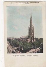 Canada, St. James Anglican Cathedral, Toronto Postcard, B163