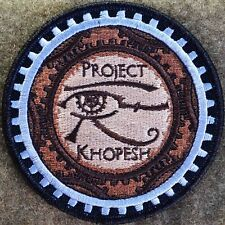 PROJECT KHOPESH 'LIMITED EDITION' STEAMPUNK/TINKER/BICYCLE/GEAR PATCH  W/VELCRO