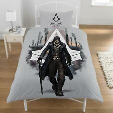 ASSASSIN'S CREED SYNDICATE SINGLE DUVET COVER REVERSIBLE 2 in 1
