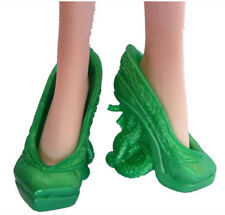 Monster High Doll Accessories Green High heel Shoes Boots Child New Gifts 167#