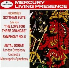 DORATI -- PROKOFIEV (CD) LIKE NEW -- MERCURY 'LIVING PRESENCE' STEREO #432753