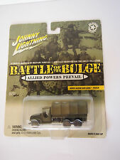 JOHNNY LIGHTNING WWII CCKW 6X6 GMC TRUCK BATTLE OF THE BULGE MILITARY VEHICLE