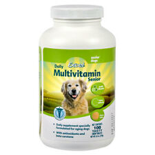 8 in 1 Excel Time Release Multi-Vitamin Tabs for Senior Dogs 100ct (Free Shippin