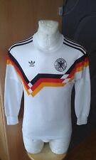 ADIDAS WEST GERMANY HOME L/S RARE SHIRT MAGLIA JERSEY VINTAGE FOOTBALL