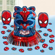 Marvel Ultimate Spider-Man Birthday Party Table Centrepiece Decorating Kit