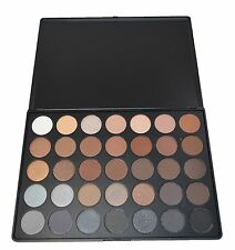 Morphe 35K Koffee Eyeshadow Palette New Auth NIB Metallic Matte Java Mocha shade