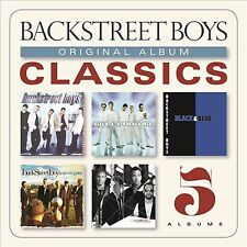 BACKSTREET BOYS - ORIGINAL ALBUM CLASSICS - 5 CD BOX SET