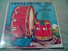 PIPES DRUMS & BAND MACHRINGBEG HIGHLANDERS LP MINT POLKA MARCHES JIGS REEL