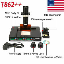 T862++ BGA Rework Station IRDA Welder Infrared SOLDERING TECHFor Computer Laptop
