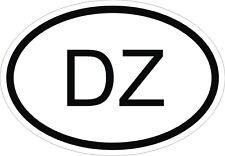 DZ Autocollant OVAL ALGERIE Sticker Voiture Moto Caravane Pare-choc