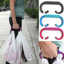 Soft Grip Grocery Shopping Bag Easy Carrier Handle Holder Tool One Trip New !