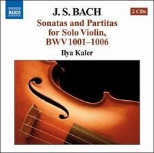 J.S. Bach: Sonatas And Partitas For Solo Violin BWV 1001-1006, New Music