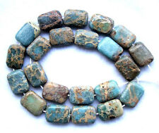 Sea Sediment Jasper Flat Rectangle Beads 13×18mm15.5""