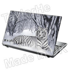 Laptop Skin Cover Notebook Sticker Decal Snow Tiger 205