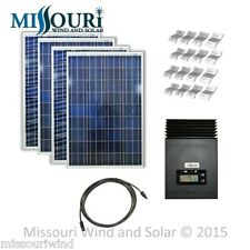 12 24 Volt 400 Watt 50 Amp MPPT Solar Panel Kit