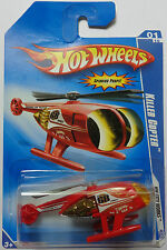 2009 Hot Wheels Killer Copter Col. #107 (Red Version)