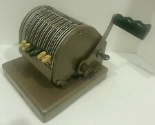 "Vintage Paymaster Checkwriter and Protector ""WITH RARE KEY"" Working+ vinyl cover"