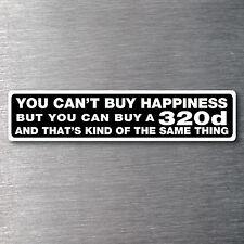 Buy a 320d sticker Premium 10 yr vinyl water/fade proof BMW badge parts