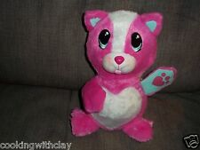 PLUSH DOLL FIGURE FUR BERRIES PINK STRAWBERRY SCENTED CAT WITH  TONGUE OUT TOY