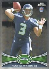 2012 Topps Chrome Russell Wilson Seattle Seahawks #40 Football +++ 5 RC