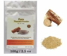 100g Pure Tanaka Thanaka Powder Anti Acne Aging Whitening Face Skin Hair Removal