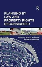 NEW - Planning By Law and Property Rights Reconsidered