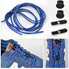 5Paar Elastische Sport Schnürsenkel Schuhbänder für Marathon Athleten Blau