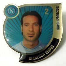 Pin Spilla Calcio Napoli 2006/2007 - Gianluca Grava