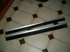 BMW INDIVIDUAL E46 DOOR SCUFF SILLS STEP PANEL FOOT PLATES 3 SERIES FREE POSTAGE