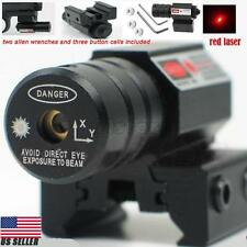 Tactical Red Laser Beam Dot Sight for Gun Rifle Pistol Picatinny Mount WP R1G