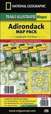 Adirondack Park New York Topo Map Pack Waterproof Trail Maps National Geographic