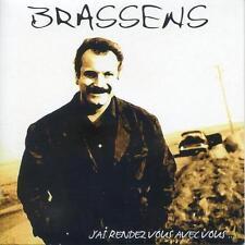 BRASSENS - J'AI RENDEZ-VOUS AVEC VOUS... - 25 TITRES - CD ÉTUI CARTON - NEUF NEW