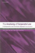 NEW - The Anatomy of Corporate Law: A Comparative and Functional Approach