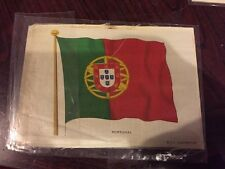 Lovely Bdv Cigarette Silk Picture -  Ww1 Allies - Portugal
